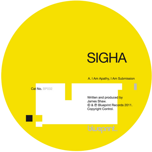 Sigha - I Am Apathy, I Am Submission