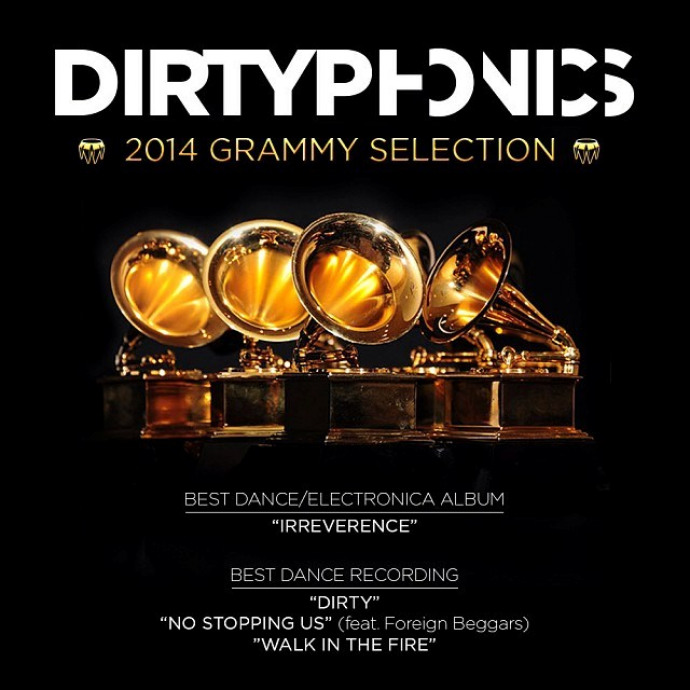 Dirtyphonics selected for multiple Grammy Awards Nominations