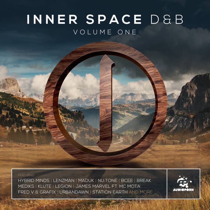 Inner Space D&B Volume One - Album Mix by James Marvel & MC Mota