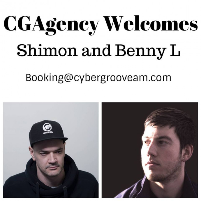 CGAgency Welcomes Shimon & Benny L