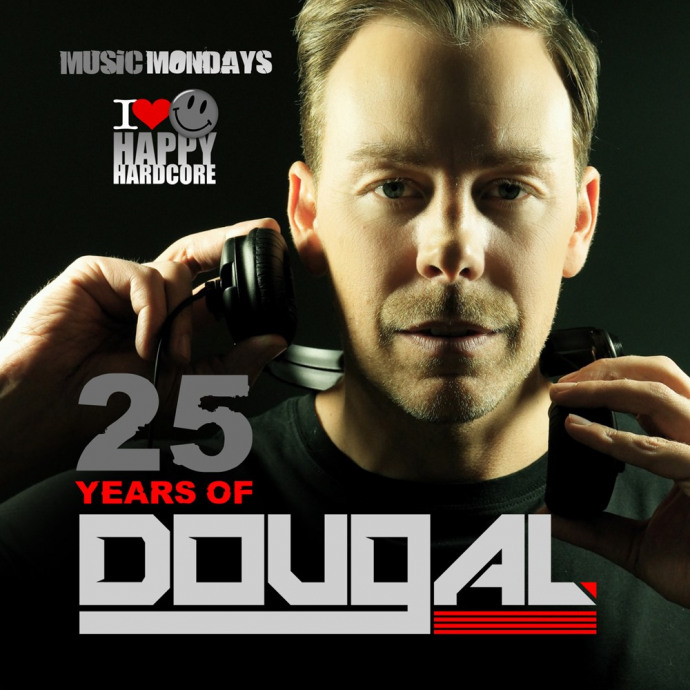PRE ORDER ** DJ Dougal - 25 Years Of Dougal - Signed Double CD
