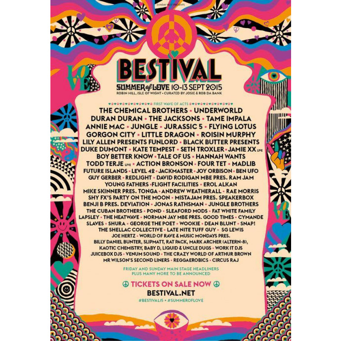 Bestival 2015 - Summer of Love