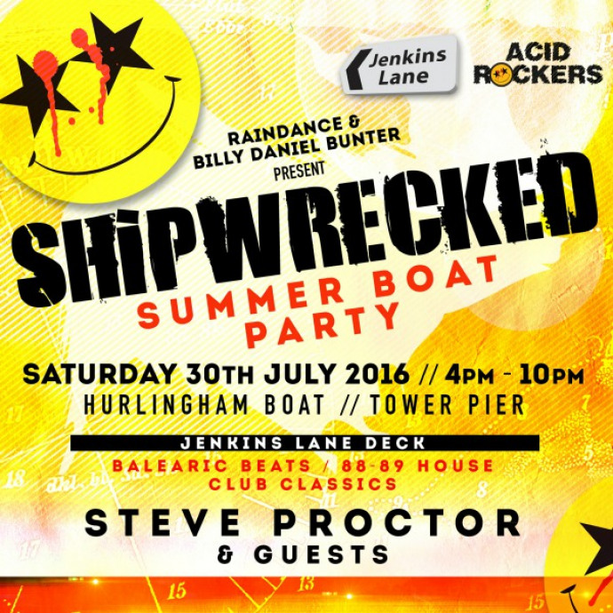Raindance Presents Shipwrecked Summer Boat Party