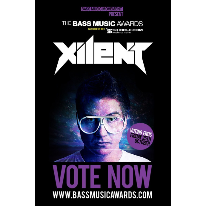 Vote for Xilent in the 2013 Bass Music Awards!