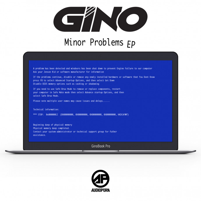 Gino - Minor Problems EP [APORN091]