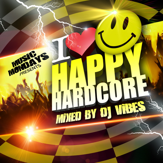 OUT NOW  'I Love Happy Hardcore' CD