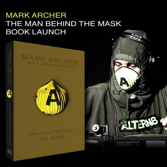 The Man Behind the Mask Book Launch Rave
