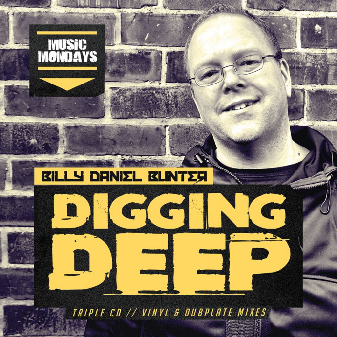 Pre Order - BILLY DANIEL BUNTER - DIGGING DEEP