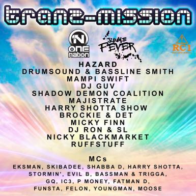 Tranz-Mission - One Nation & Jungle Fever