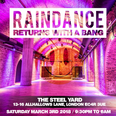 Raindance Returns with a bang