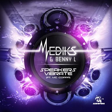 Mediks & Benny L - 'Speakers Vibrate (ft. MC Coppa)' [APORN052]