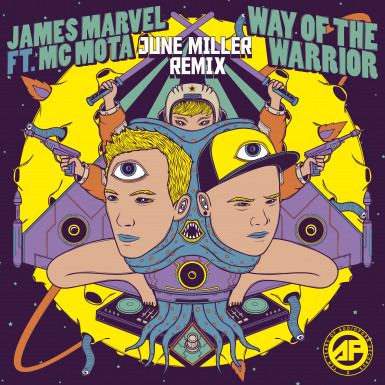 James Marvel & MC Mota  - Way of the Warrior (June Miller Remix) [APORN080]