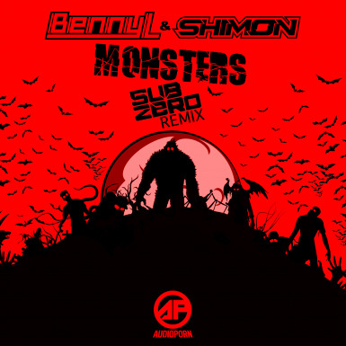 BENNY L & SHIMON - MONSTERS (SUB ZERO REMIX) [APORN090]