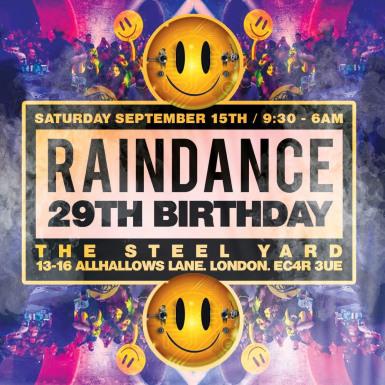 Raindance 29th Birthday